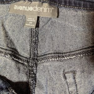 Avenue denim skinny jeans plus size 20